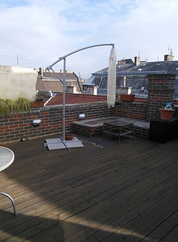 Paris rooftop