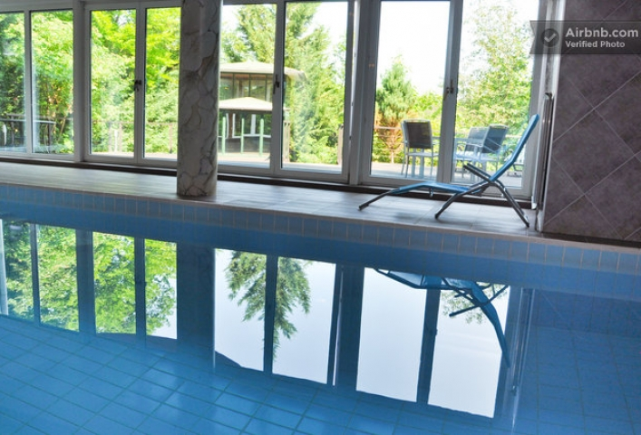 Privat Villa with indoor pool